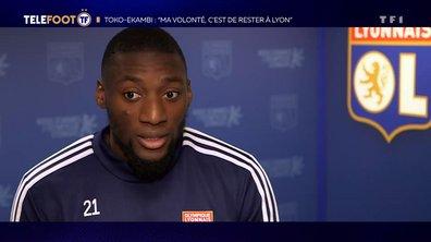 """Toko-Ekambi : """"Ma volonté, c'est de rester à Lyon"""""""