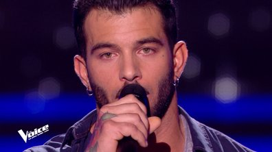 "THE VOICE 2020 - Tony chante ""La vie ne m'apprend rien"" de Daniel Balavoine"
