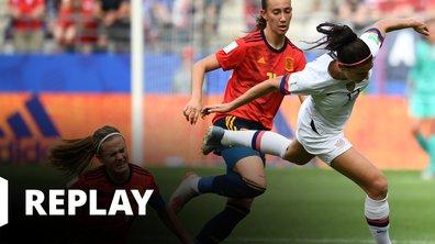 Espagne - Etats-Unis - Coupe du Monde Féminine de la FIFA, France 2019