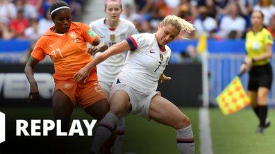 USA - Pays-Bas - Coupe du Monde Féminine de la FIFA, France 2019