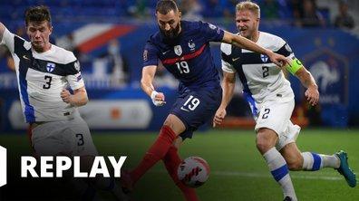 France - Finlande : revoir le match en intégralité