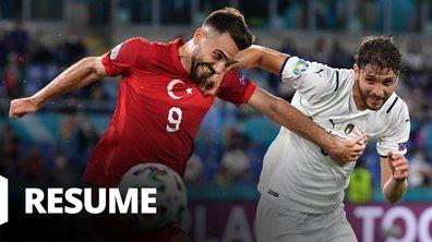 Turquie - Italie : Voir le résumé du match en vidéo