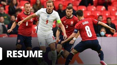 République tchèque - Angleterre : Voir le résumé du match en vidéo