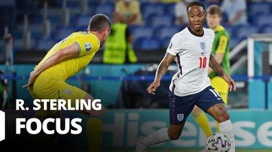 Ukraine - Angleterre : Voir le match de Raheem Sterling en vidéo