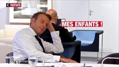 Top 3 du petit bijou de CNEWS sur Emmanuel Macron
