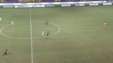 VIDEO - Un but de plus de 50 mètres au Japon