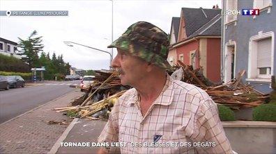 Tornade dans l'Est : des blessés et des dégâts