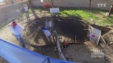 Total rénovation : California - Une piscine sinon rien