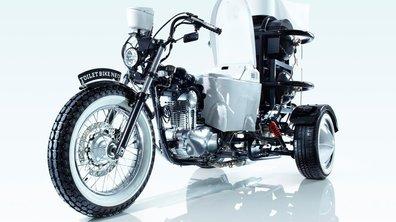 Insolite : la moto-toilette en photos et vidéo