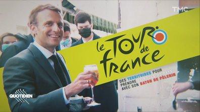 Tour de France d'Emmanuel Macron : jour 1 et un Bingo bien rempli