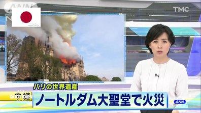 Tour du monde des réactions après l'incendie de Notre-Dame