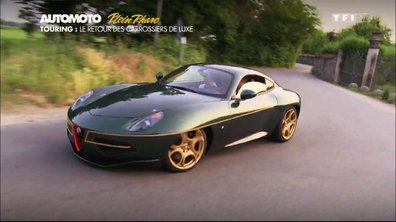 Plein Phare : Touring Superleggera Disco Volante, bellissima !