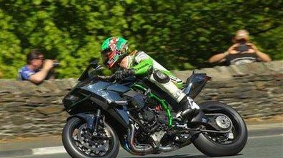 Kawasaki H2R : un record de vitesse de 331 km/h au Tourist Trophy