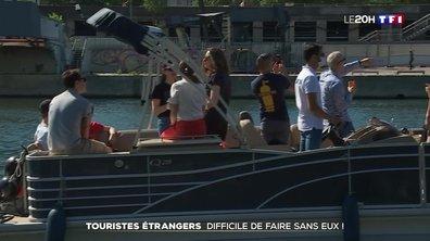 Touristes étrangers : difficile de faire sans eux !