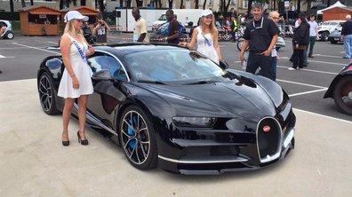 Sommaire Automoto (+vidéos) : Exclu Bugatti Chiron ce 26 juin 2016