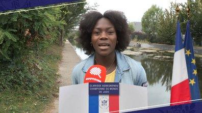 Toutes candidates : Clarisse Agbegnenou