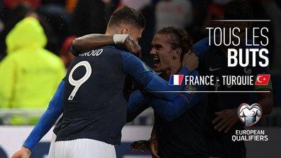 France - Turquie : Voir tous les buts du match en vidéo