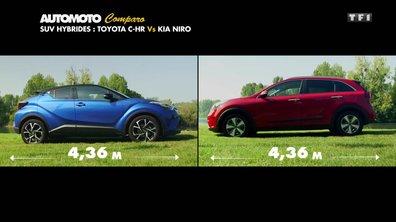 Duel : Toyota C-HR vs Kia Niro