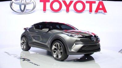 Salon de Francfort 2015: Toyota C-HR Concept, encore plus proche de la série