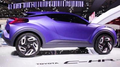 Toyota C-HR Concept, futur anti-Qashqai -  Mondial de l'Automobile 2014