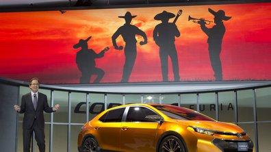 Salon de Détroit 2013 : Toyota Corolla Furia Concept, compacte décomplexée