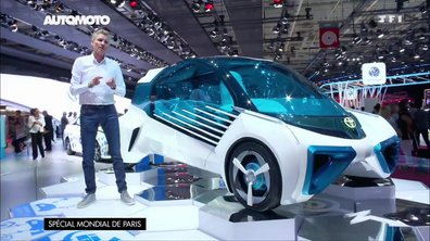 Toyota FCV Plus Concept : science-fiction à hydrogène au Mondial de l'Auto 2016