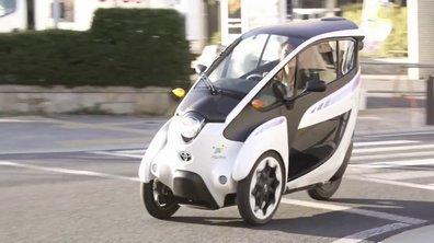 Toyota i-Road 2014 : essais grandeur nature à Tokyo