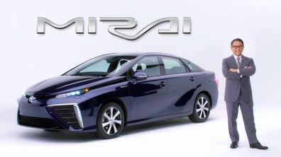 Toyota Mirai 2015 : présentation officielle en vidéo