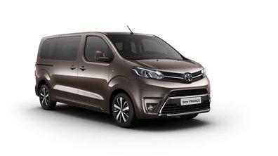 Toyota Proace 2016 : présentation officielle