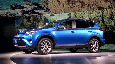 Toyota RAV4 Hybride 2016 : présentation au Salon de New York