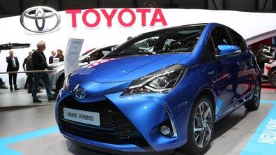 Salon de Genève 2017 : Toyota Yaris restylée, de la gueule et enfin du sport