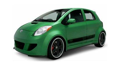 Toyota Yaris Tailback Concept : Au gaz naturel