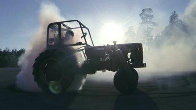 Insolite - Tractorkhana : il se la joue Ken Block en tracteur !