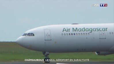 Trafic aérien : l'aéroport de Châteauroux figure parmi les seuls en suractivité
