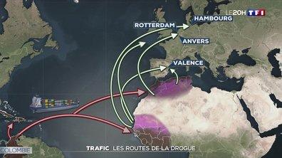Trafic : comment les drogues arrivent-elles en Europe ?