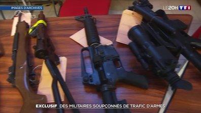 Trafic d'armes à feu : deux militaires arrêtés dans un vaste coup de filet