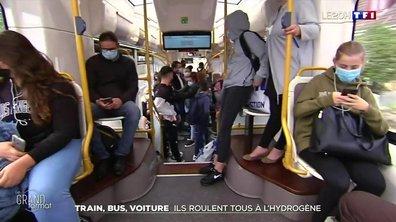 Train, bus, voiture : ils roulent tous à l'hydrogène