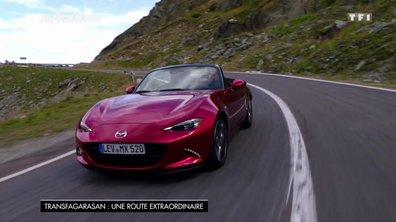 Transfagarasan : Une route extraordinaire à bord de la Mazda MX5