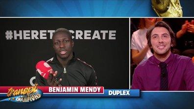 Transpi, l'année des champions : Benjamin Mendy a un message pour vous