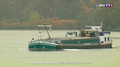 Transport fluvial : les raisons d'un échec