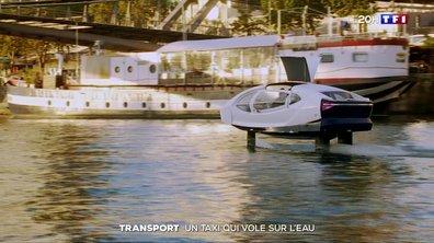 Transport : un taxi volant sur la Seine ?
