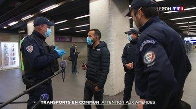 Transports en commun : les contrôles ont commencé en Île-de-France et à Caen