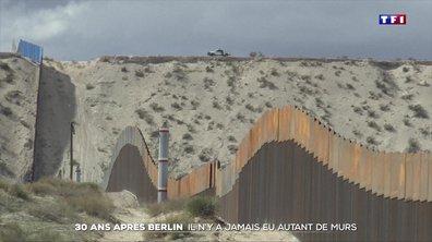 Trente ans après Berlin, les murs frontaliers encore plus nombreux