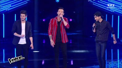 Le trio Arcadian interprète en direct « Love Yourself » (Justin Bieber) pour la demi-finale (Saison 05)