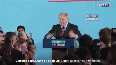 Triomphe de Boris Johnson aux élections législatives : le Brexit se rapproche