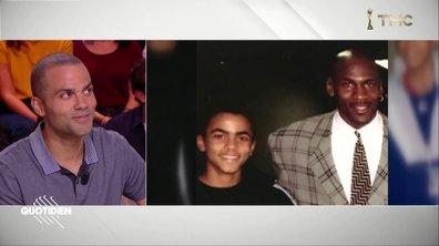 """""""Il est triste, mais il comprend"""" : Tony Parker raconte la réaction de Michael Jordan à l'arrêt de sa carrière"""