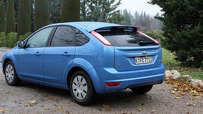 Trois Ford ECOnetic au Rallye des Véhicules à Energie Alternative