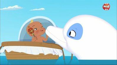 Trois hommes et un dauphin - Oum le dauphin blanc