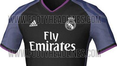 Real Madrid : Le troisième maillot saison 2016-2017 fuite sur internet