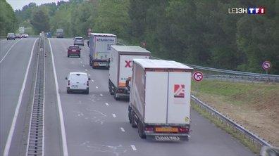 Trop de camions sur la Nationale 10 en Charente